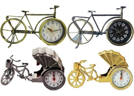 6 Reloj Vintage Bicicleta Bicitaxi Oldies Arte Mejor Precio