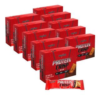 Kit 10x Protein Crisp Bar = 120 Unid Integral Médica Revend