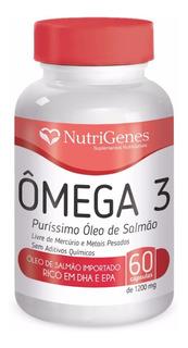 Omega 3 Oleo Salmão Alaska - Nutrigenes Premium 1200mg