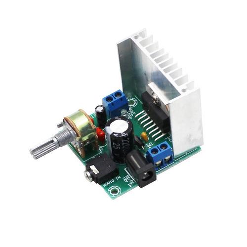 Imagen 1 de 3 de Modulo Amplificador Audio Tda7297 Stereo 2x15w 9-15v