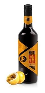 Fernet Premium Nero 53 Maracuyá 750ml. - Envíos