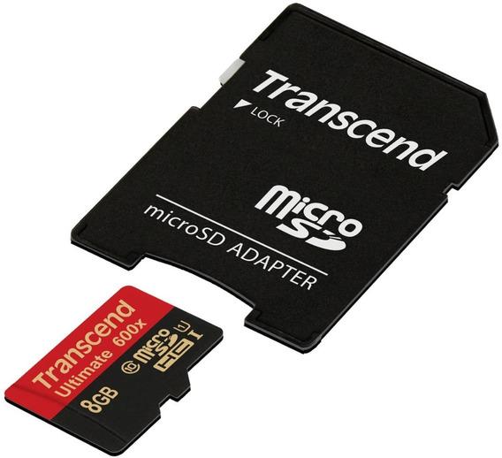 Cartão 8gb Microsdhc Classe 10 Ultimate - Kit 10 Unid