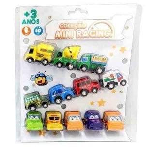 Coleção Mini Racing - Zoop Toys- 12 Carrinho Fricção Barato