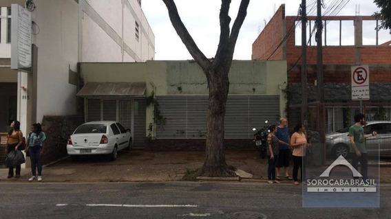 Casa À Venda, 449 M² Por R$ 2.800.000 - Centro - Sorocaba/sp, Próximo Ao Correio, Lotérica E Shopping Cianê. - Ca0091