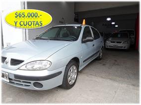 Renault Megane 2005 Authentique 1.6 Mínimo Anticipo Y Cuotas