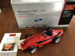 Miniatura F1 Maserati 250f Fangio Campeão 1957 Cmc 1/18