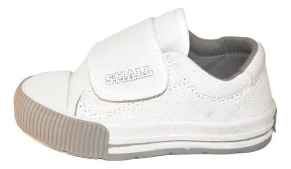 Zapatilla Colegial Monoabrojo Lona Small Shoes
