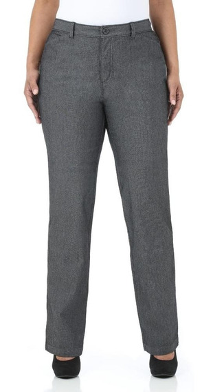 Pantalon Dama Extra 18 Long Mujer Alta Stretch Straight Leg