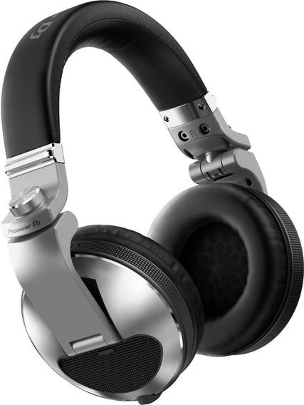 Fone De Ouvido Pioneer Dj Headphone Hdj X10 Prata Hdj-x10-s