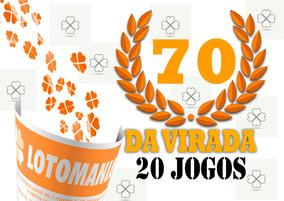 Lotomania 70 Da Virada
