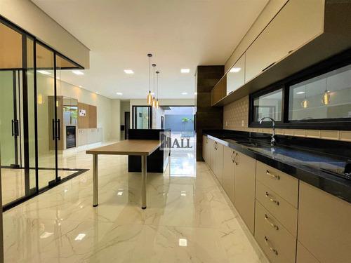 Casa À Venda Condomínio Golden Park Com 3 Quartos E 4 Vagas - V8590