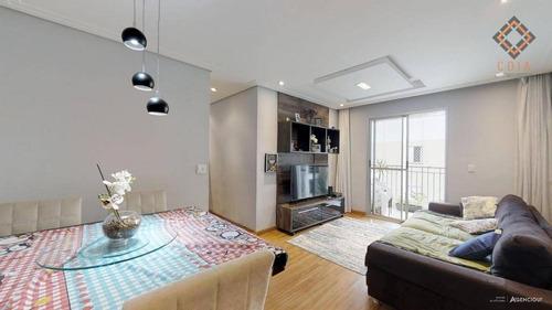 Apartamento Com 3 Dormitórios À Venda, 73 M² Por R$ 510.000,00 - Jaguaré - São Paulo/sp - Ap43340