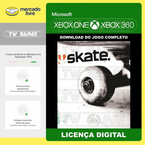 Skate 1 Digital Retrocompativel Xbox One Xbox 360 Digital