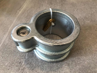 Candado Para Caja (perno Rey) Aluminio