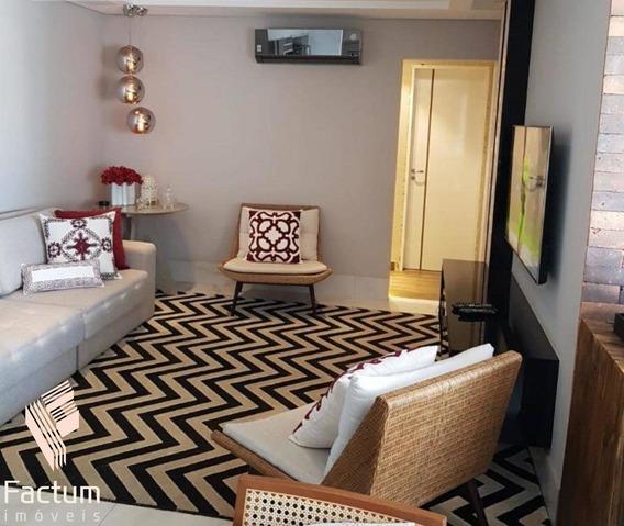 Apartamento Residencial Para Venda, No Condomínio Garnet Parque Residencial Nardini, Americana - Ap00571 - 34379543