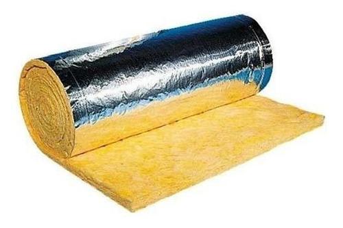 Lana Vidrio Asts 50 Mm Aluminio Reforzado 2da Selección 25m2