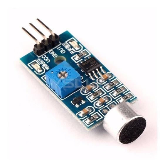 10x Módulo Detector Sensor De Som Palmas Arduino Pic C/ Nota
