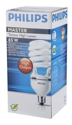Lâmpada Twister High Lumen 65w E-27 110-127v Philips