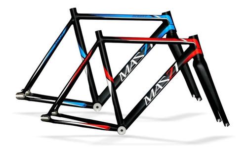 Imagen 1 de 4 de Cuadro Mazzi Street Bicicleta Pista Fixed - Racer Bikes