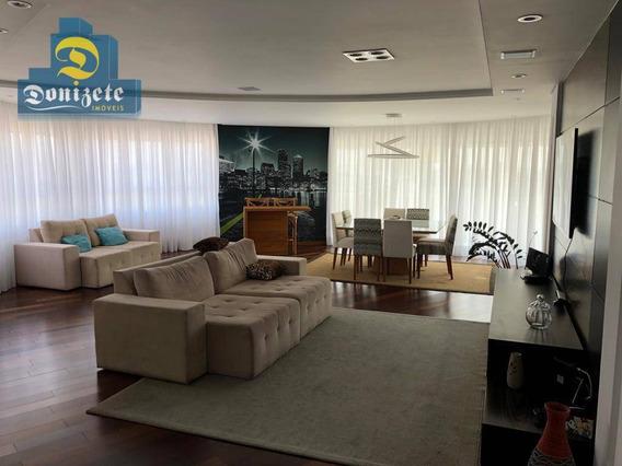 Apartamento Com 3 Dormitórios À Venda, 232 M² Por R$ 1.800.000,00 - Vila Assunção - Santo André/sp - Ap10020