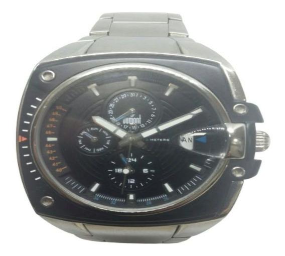 Relógio Dumont Masculino Multifuncional Prateado Sz20084j