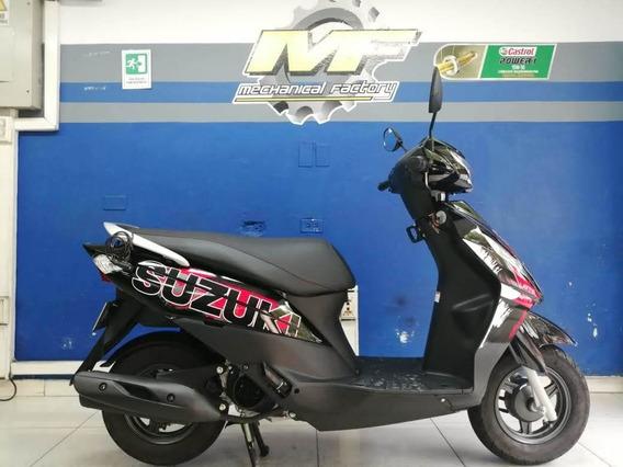 Suzuki Lets 125 Modelo 2019 Como Nueva