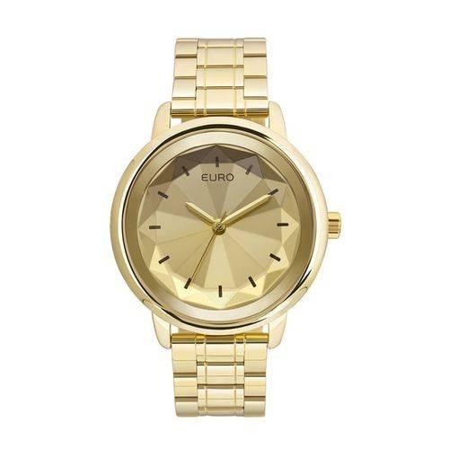 Relógio Feminino Dourado Euro Euy121e6dc/4d