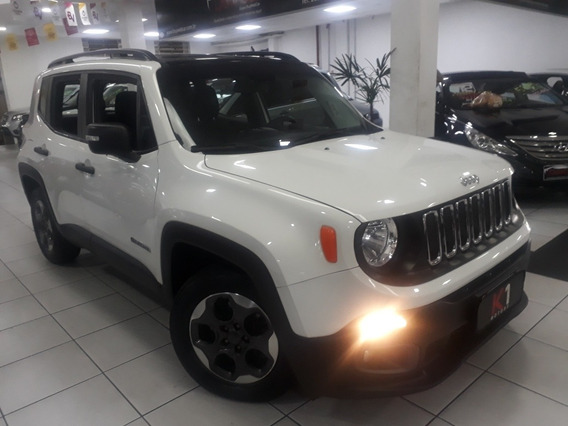 Jeep Renegade Sport 2017 Automatica 4x2 Flex Branca