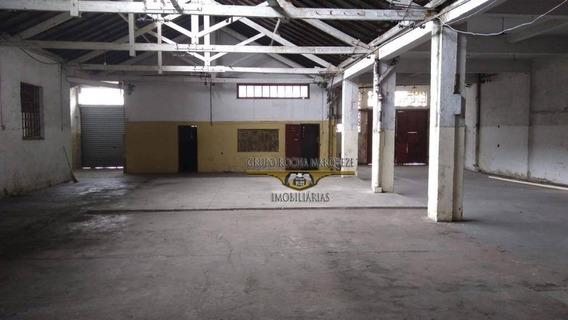 Galpão Para Alugar, 1277 M² Por R$ 12.000,00/mês - Belenzinho - São Paulo/sp - Ga0078