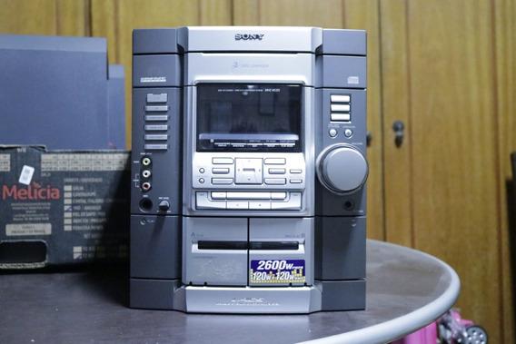 Micro System Sony Hcd-rg55 - 2.600w - Com 2 Caixas De Som
