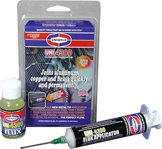 Kit Uniweld P4kd9s Aluminio Blando Soldadura Con Punta De Me