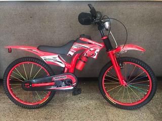 Bicicleta R20 Tipo Moto