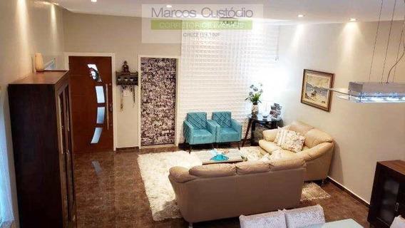 Sobrado Com 3 Dorms, Santa Maria, São Caetano Do Sul - R$ 1.27 Mi, Cod: 1304 - V1304
