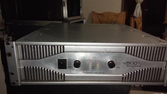 Amplificador American Audio V 5001 Plus ( Ubicado En Vargas)