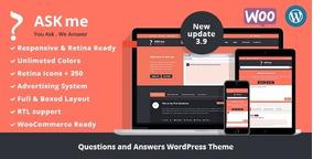 Ask Me Tema Pack Wordpress Tema - Vários