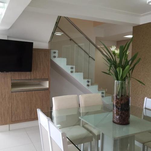 Cobertura Com 5 Dormitórios À Venda, 181 M² Por R$ 1.699.000,00 - Centro - Santo André/sp - Co0066