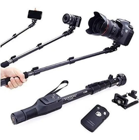 Monopod Profesional Bluetooth Selfie 125cm Calidad Tienda
