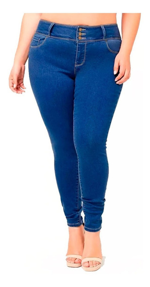 Jean Forever 21 Plus Size Tiro Alto Skinny Jeans T 18 Am