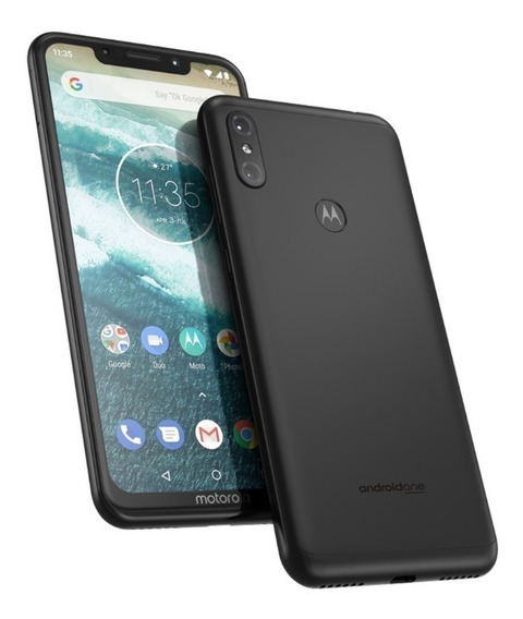 Celular Motorola Moto One Nuevo Libre Gtía 4gb Ram 64gb