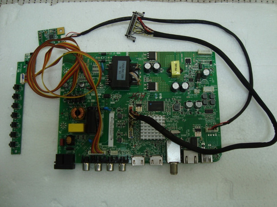 Placa Principal, Wi Fi E Teclado Ir Tv Ph40r86dsgw Versão A