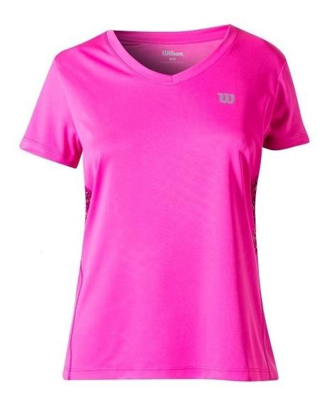 Camiseta Infantil Feminina Wilson - Tour - Tênis
