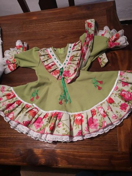 Se Vende Vestido De Huasa Talla 4