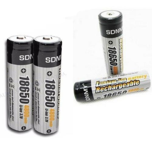 Imagen 1 de 2 de Bateria Recargable Para Linternas 4800mah
