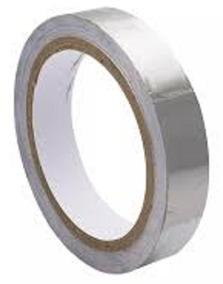 Fita Adesiva De Alumínio - Alta Temperatura