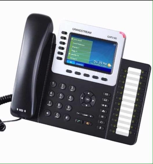Teléfono Ip Marca Grandstream Gxp2160 Nuevos En 150 Verdes