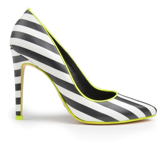 Zapatos De Mujer De Cuero Cartagena Stiletto- Ferraro