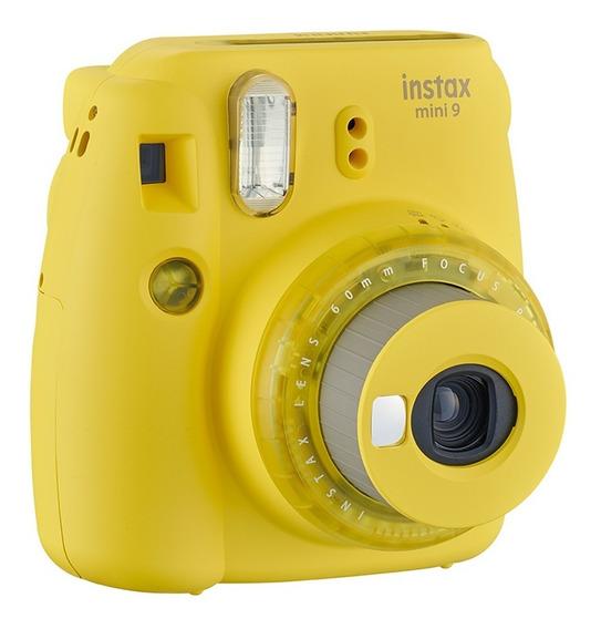 Câmera Fotográfica Instantânea Instax Amarelo Banana