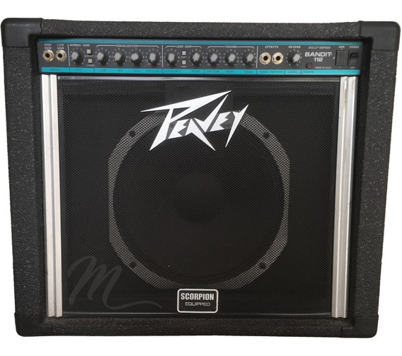 Amplificador Guitarra Peavey Bandit 112 Cuotas