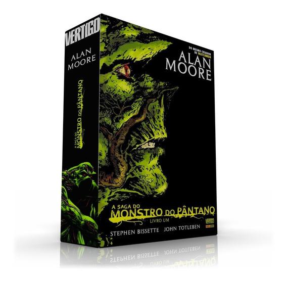 Box (caixa) Para Hqs - A Saga Do Monstro Do Pantano