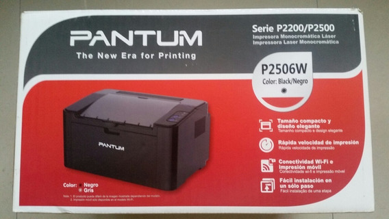 Impresora Laser Wifi Pantum P2506w Somos Tienda Fisica 110$